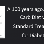 Standard Treatment for Diabetes Prior to the Discovery of Insulin