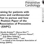 Our Position Paper on: Exercise training for patients with type 2 diabetes  and cardiovascular disease. – CENTER FOR TRANSLATIONAL CARDIOVASCULAR  DISEASE PREVENTION