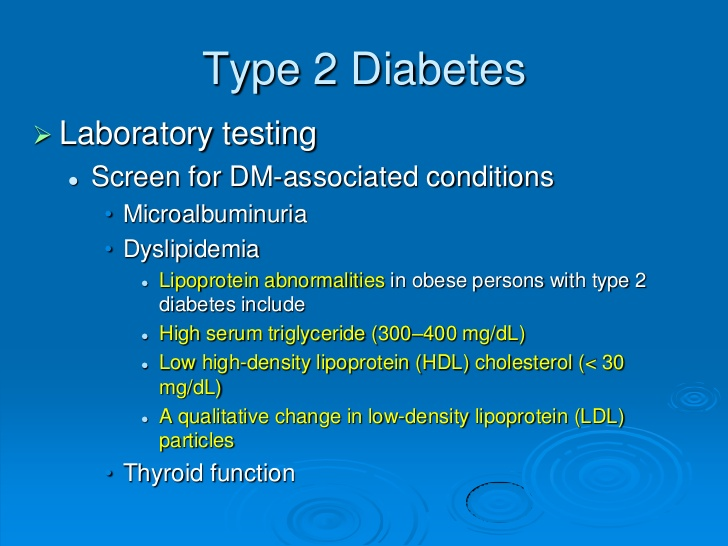 Diabetes and Glucose Metabolism