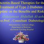 Glp 1-based therapies for treatment of type 2 diabetes update on the…
