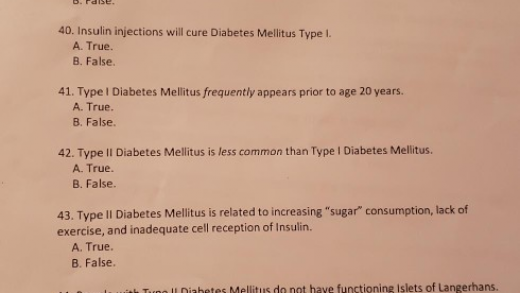 Solved: The Following Questions Are Related To Diabetes Me... | Chegg.com