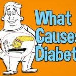 What causes diabetes, high blood sugar and type 2 diabetes - YouTube