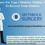 Surgery for type 2 diabetes mellitus helps to recover from diabetes