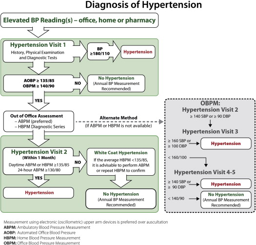 A New Algorithm for the Diagnosis of Hypertension in Canada - ScienceDirect