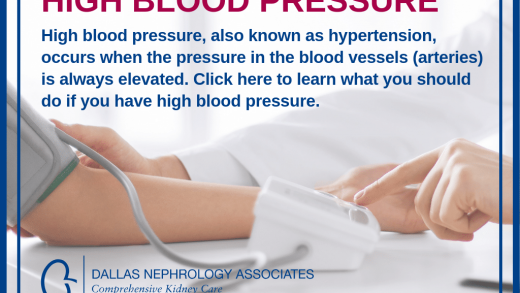 High Blood Pressure: A Common Health Problem that Effects 1 in 3 Adults -  Dallas Nephrology Associates