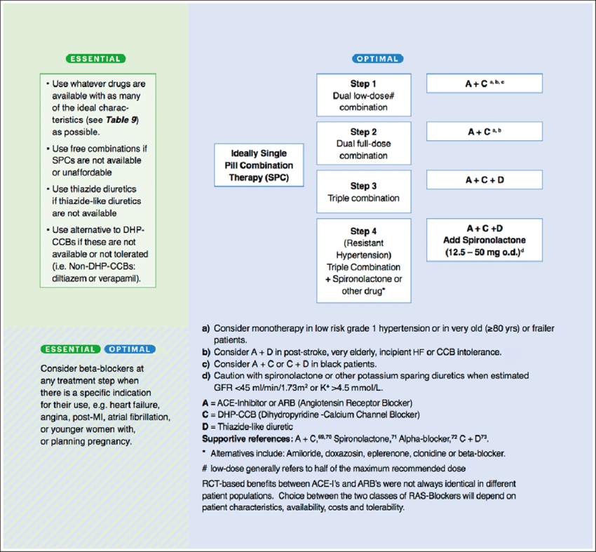 ISH core drug-treatment strategy. Data from references 69-73. Ideal... |  Download Scientific Diagram