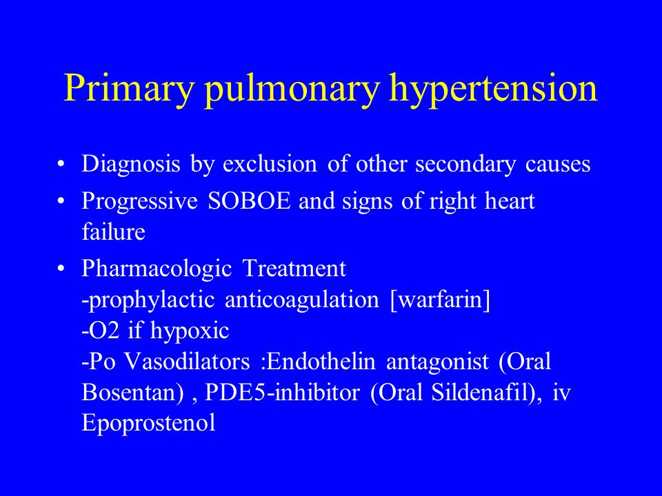 Pulmonary Hypertension and Right Heart Failure - ppt download