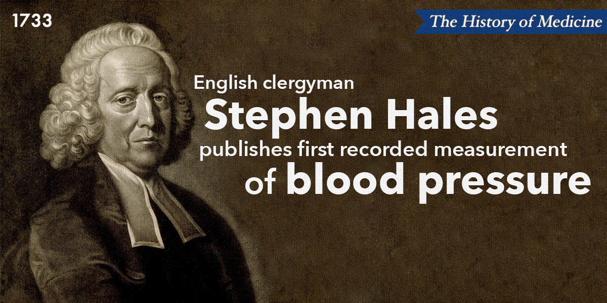 History of Medicine: First Measurement of Blood Pressure   Columbia  University Department of Surgery