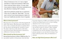 High Blood Pressure and African Americans | American Heart Association