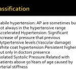 Essential hypertension management and treatment