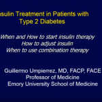 Insulin Treatment In Patients With Type 2 Diabetes
