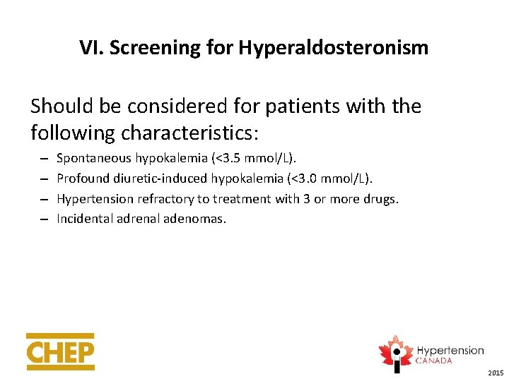 Part 1 Recommendations for Hypertension Diagnosis Assessment and
