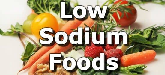 Low Sodium Foods for People with High Blood Pressure (Hypertension)