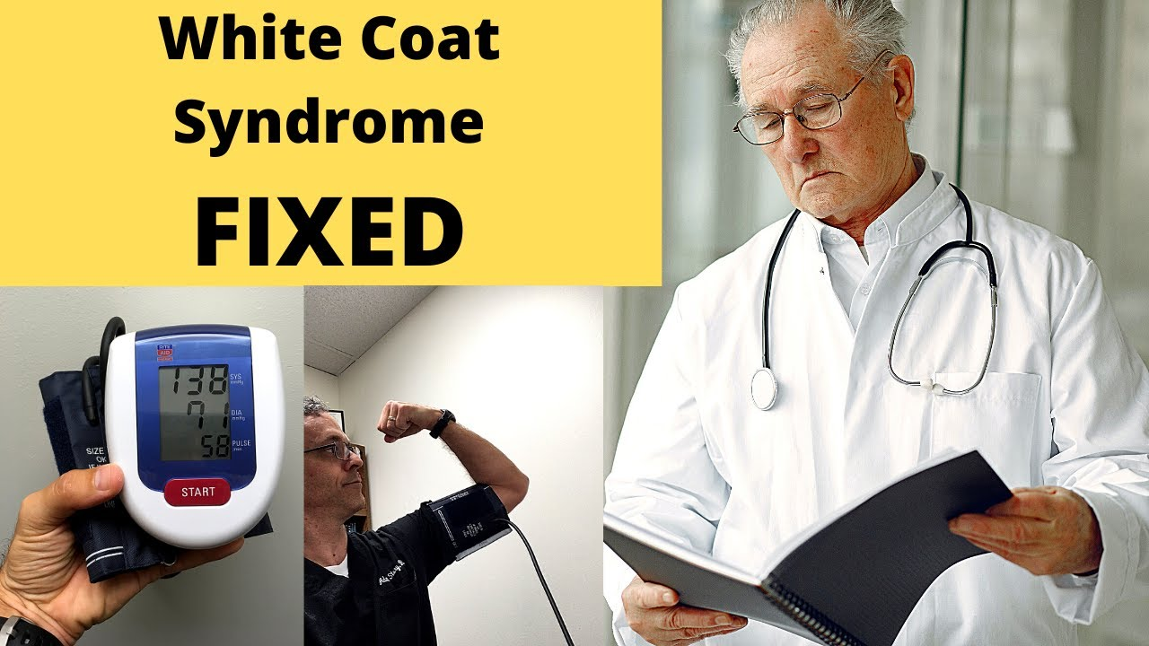 What is white coat hypertension? How do you overcome it?