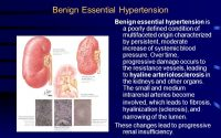 What Is The Difference Between Essential And Benign Hypertension