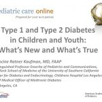 PPT - Type 1 and Type 2 Diabetes in Children and Youth: What's New and  What's True PowerPoint Presentation - ID:3414210