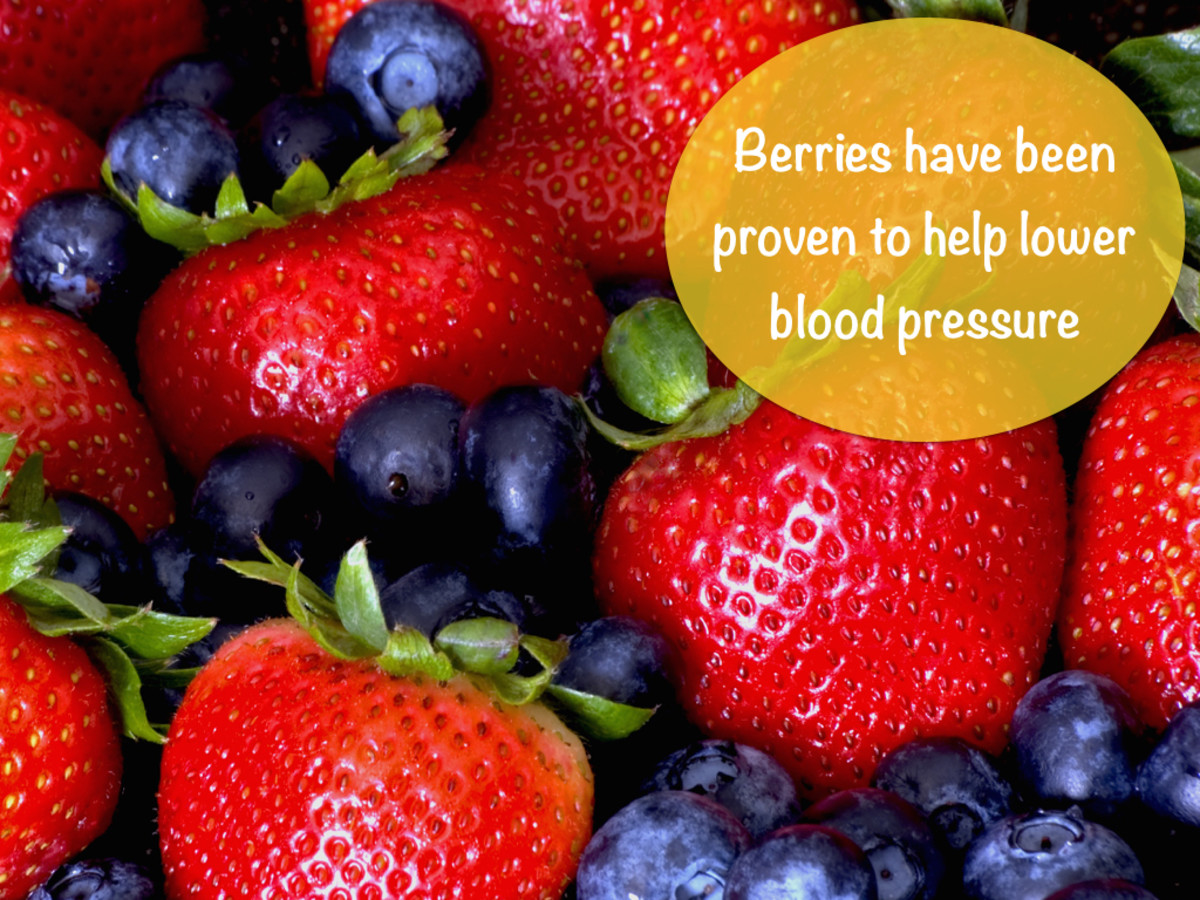 A List of Foods that Lower High Blood Pressure and Reduce Hypertension -  HubPages