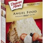 Duncan Hines Angel Food Cake Mix - 16 oz, Nutrition Information   Innit