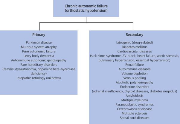 Orthostatic Hypotension: Epidemiology, Prognosis, and Treatment -  ScienceDirect