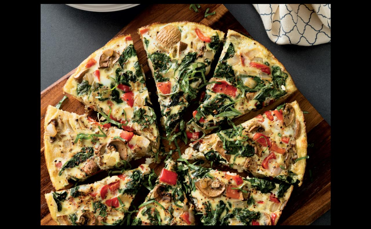 Vegetable Frittata « roasted vegetable frittata recipe « Clean & Delicious