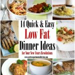 14 Quick & Easy Low Fat Dinner Ideas | Carrie's Experimental Kitchen