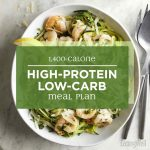 1,400-Calorie High-Protein Low-Carb Meal Plan | EatingWell