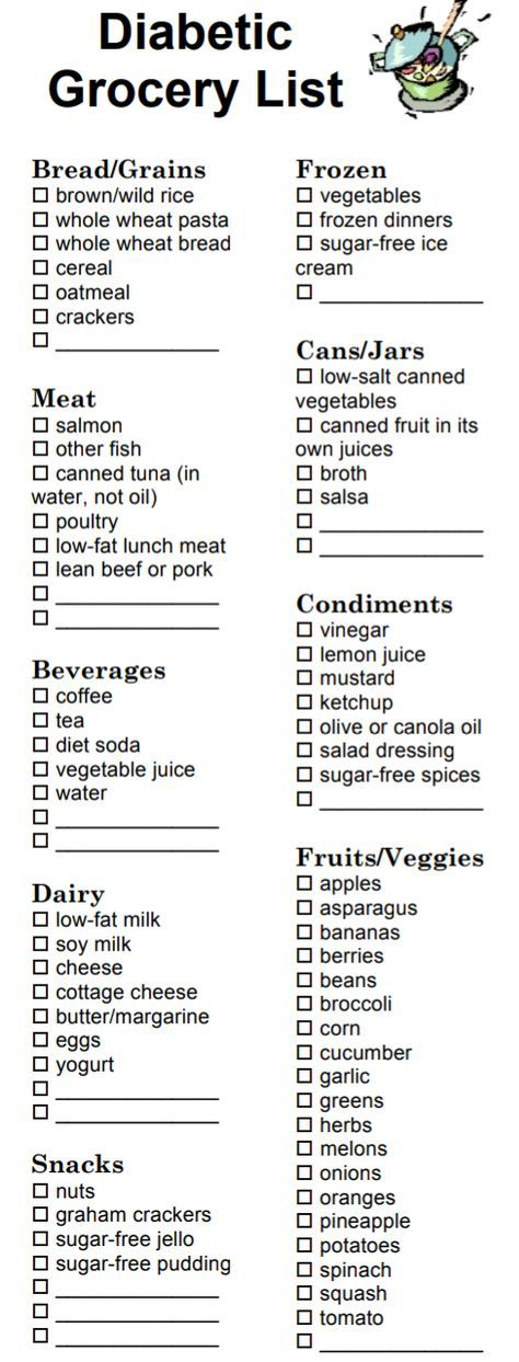 Pin by Genell Whitson on Health | Diabetic grocery list, Diabetic snacks, Diabetic  diet recipes