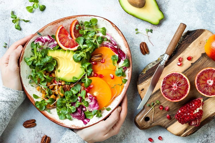 Raw Food Diet Review: Benefits, What You Eat, & More