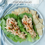 WW Skinny Chicken Salad - Life is Sweeter By Design