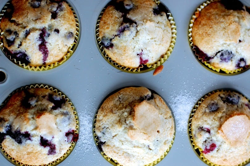 Low-fat Living: blueberry muffins with less fat - San Antonio Things To Do