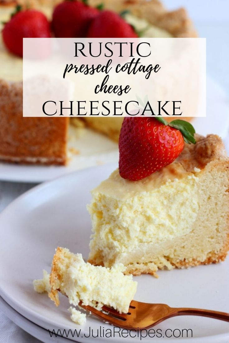 Healthy Cottage Cheese Cheesecake | Food Faith Fitness