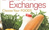 Book Cover The Official Pocket Guide to Diabetic Exchanges: Choose Your  Foods | American diabetes association, Ada diet, Good diet for diabetics