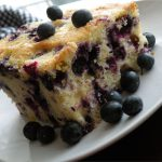 Best Ever Blueberry Ricotta Coffee Cake - The Busy Baker