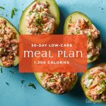 30-Day Low-Carb Meal Plan: 1,200 Calories | EatingWell