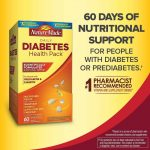 Buy Nature Made Diabetes Health Pack Nutritional Support for Diabetes and  Pre-Diabetes (6 Different Vitamins) (120 Packets) Online in Hong Kong.  B01FY9FBFU