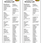 Great for people with type 2 diabetes, this printable grocery list provides  the best food to eat. Consult an endocrinologist or o… | Diabetic food  list, Diabetic snacks, Diabetes information