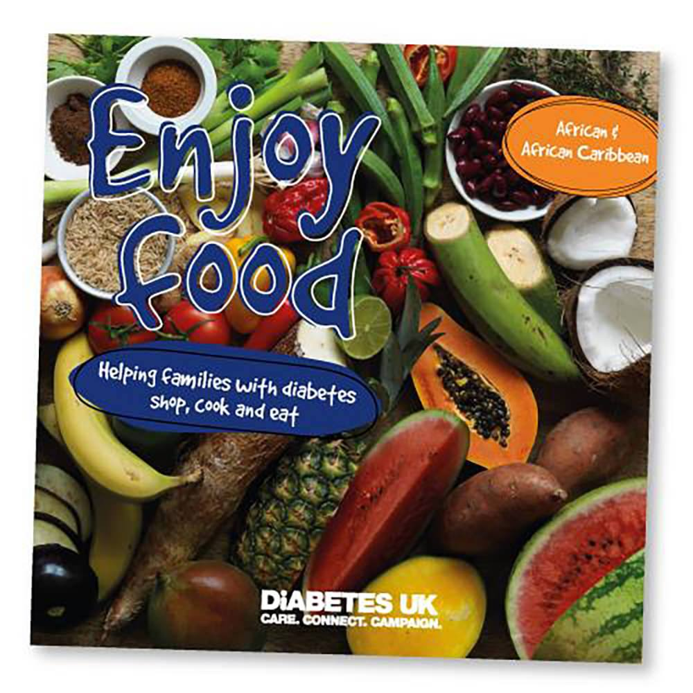Enjoy Food - helping families with diabetes shop, cook and eat - Diabetes  UK Shop