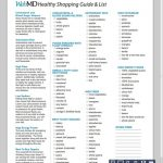 WebMD Healthy Grocery Shopping List & Guide   Healthy shopping list grocery,  Healthy shopping, Healthy shopping list