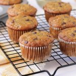 Easy healthy chocolate chip banana oat muffins - Simply Delicious