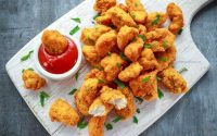 Easy Homemade Chicken Nuggets Recipe {LOW CALORIE}