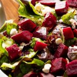 Oven Roasted Beet Salad • The Healthy Foodie