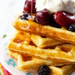Classic Homemade Belgian Waffle Recipe   The Kitchen Magpie