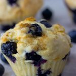 Blueberry Muffins (low-fat) - Savvy Naturalista
