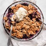 Healthy Blueberry Cobbler   Erin Lives Whole
