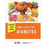 Choose Your Foods: Exchange Lists for Diabetes cover page. © 2008...    Download Scientific Diagram