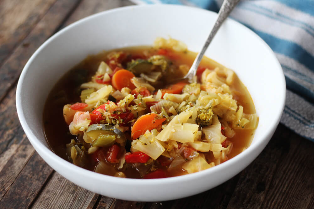Hearty + Healthy Cabbage Soup | Buy This Cook That