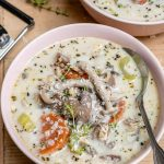 Easy Chicken Mushroom and Wild Rice Soup   Healthy Fitness Meals