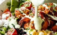 Healthy Chipotle Lime Ranch Dressing recipe