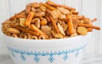 Classic Homemade Nuts and Bolts Recipe   The Kitchen Magpie