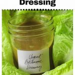 Low-Calorie Salad Dressing Recipe with Balsamic and Yogurt